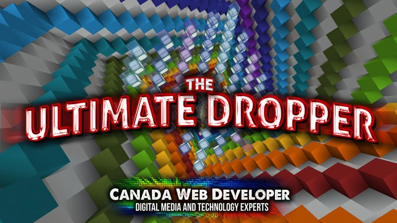 The Ultimate Dropper is a fun Minecraft dropper map with 9 different levels. Just reach the bottom of each level without dying to complete it. Have fun exploring the different ways to finish the levels! - 7 main levels. - 2 secret levels. - 9 levels in total. - By: Dannny0117 + MorganCreedFTW. - Published By: Canada Web Developer.