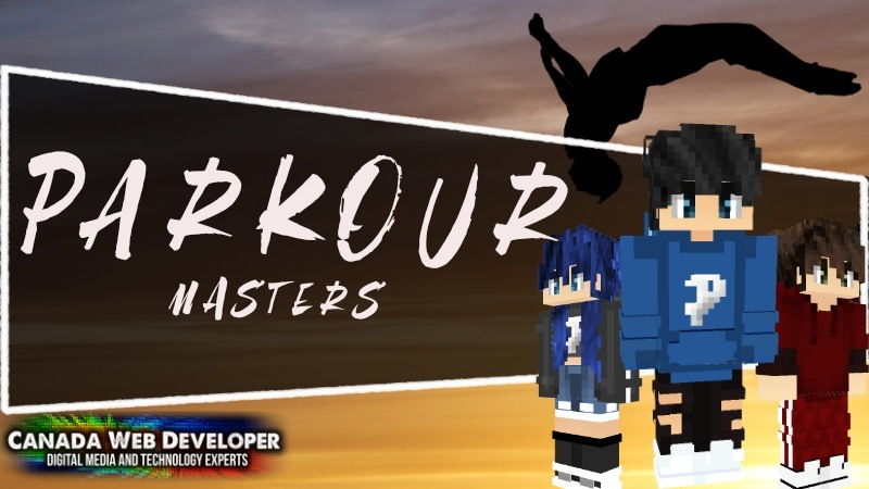 Parkour Masters is a Minecraft skin pack made for gamers that love to dash, flip, jump, and vault over obstacles to set all new records! 13 HD (128px) skins including: - 1 free - 12 parkour outfits 1 exclusive skin by: Dannny0117 Created and Published by: Dannny0117 + Canada Web Developer.