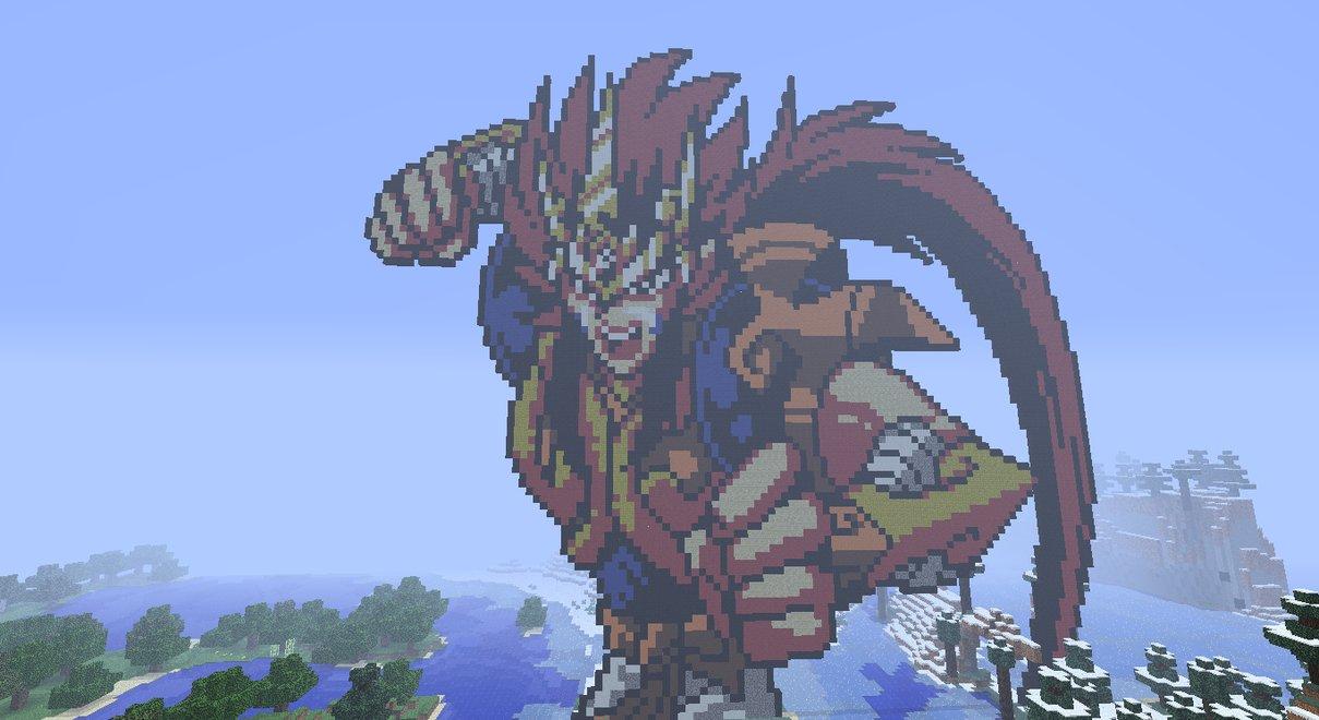 Les Pixel Arts Minecraftfr