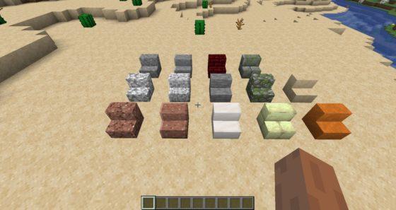 escalera de minecraft 1.14