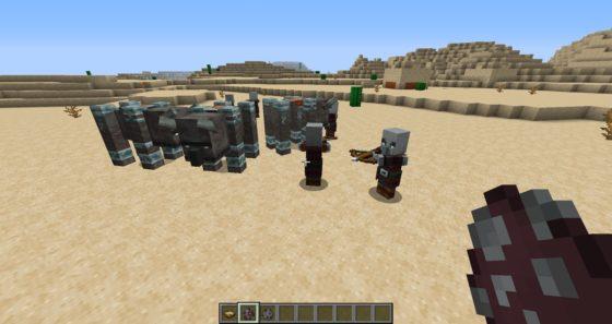 saqueadores de minecraft 1.14
