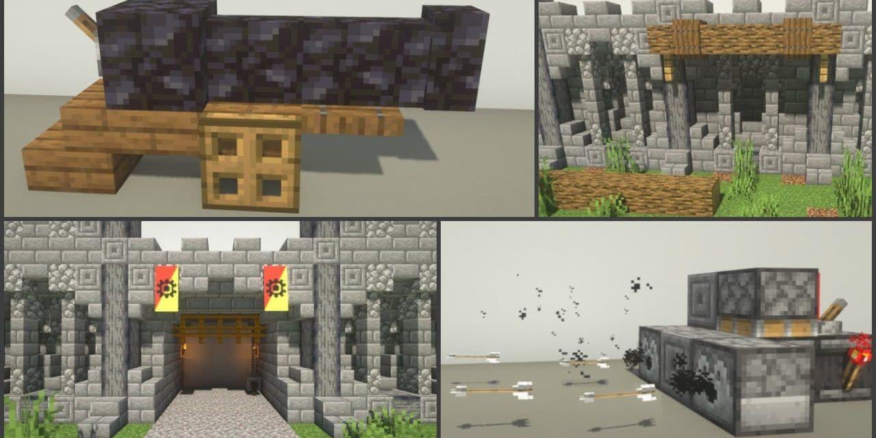 25 Astuces De Build Decoration De Chateau Dans Minecraft Minecraft Fr