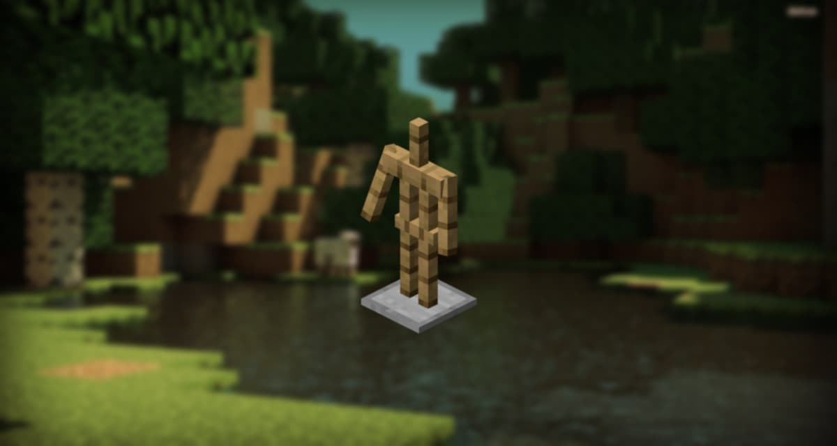 Comment Faire Un Porte Armure Sur Minecraft Minecraft Fr