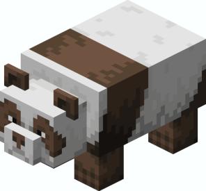 Panda marrón
