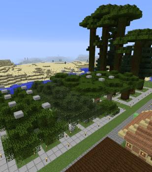 植林場の改装