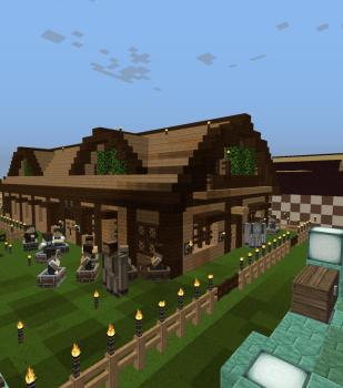 村人ハウスの建て直し