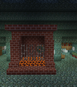 暖炉~お魚焼けてます?~