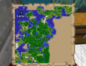 地図に表示される