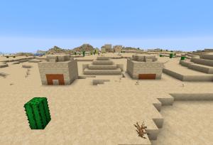 砂漠の寺院