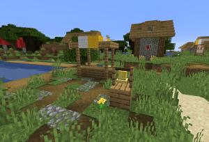 草原の村1