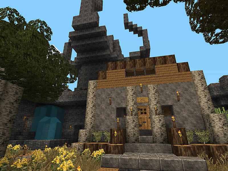 Burg Rabenstolz Luretania Eine Minecraft Welt