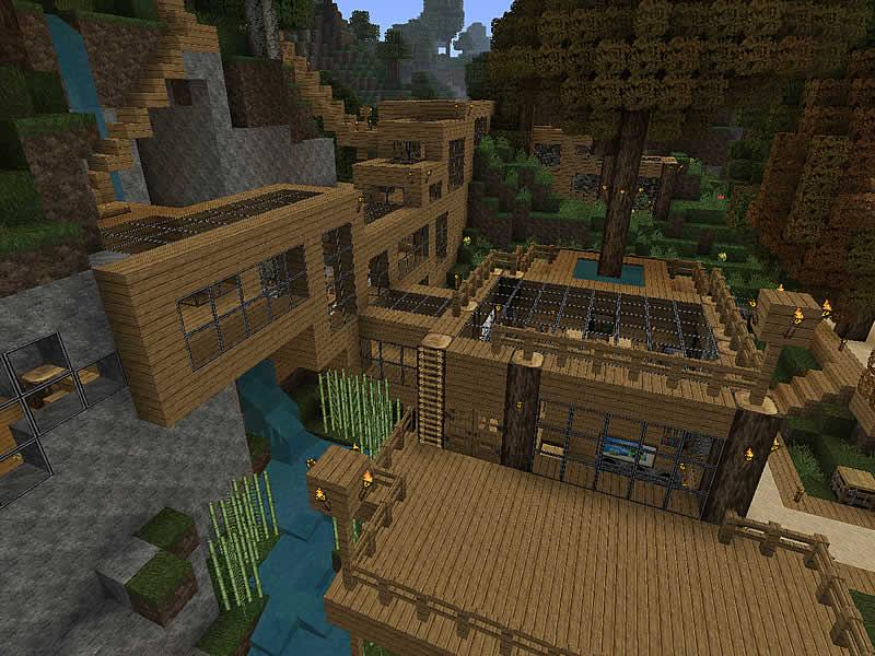 Siedlung Am Hauptbahnhof Luretania Eine Minecraft Welt