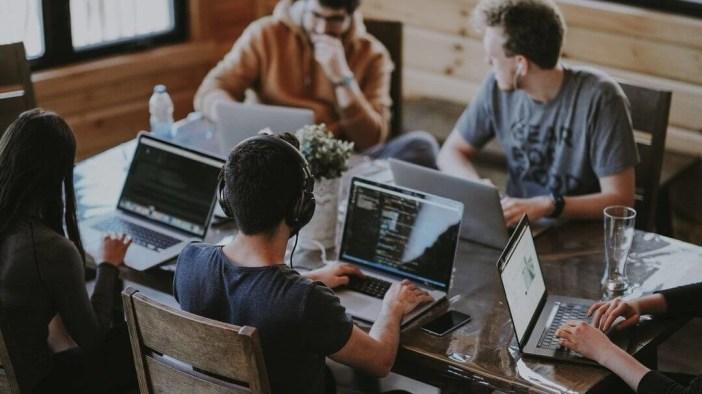 Mode Agile : représentation travail en équipe