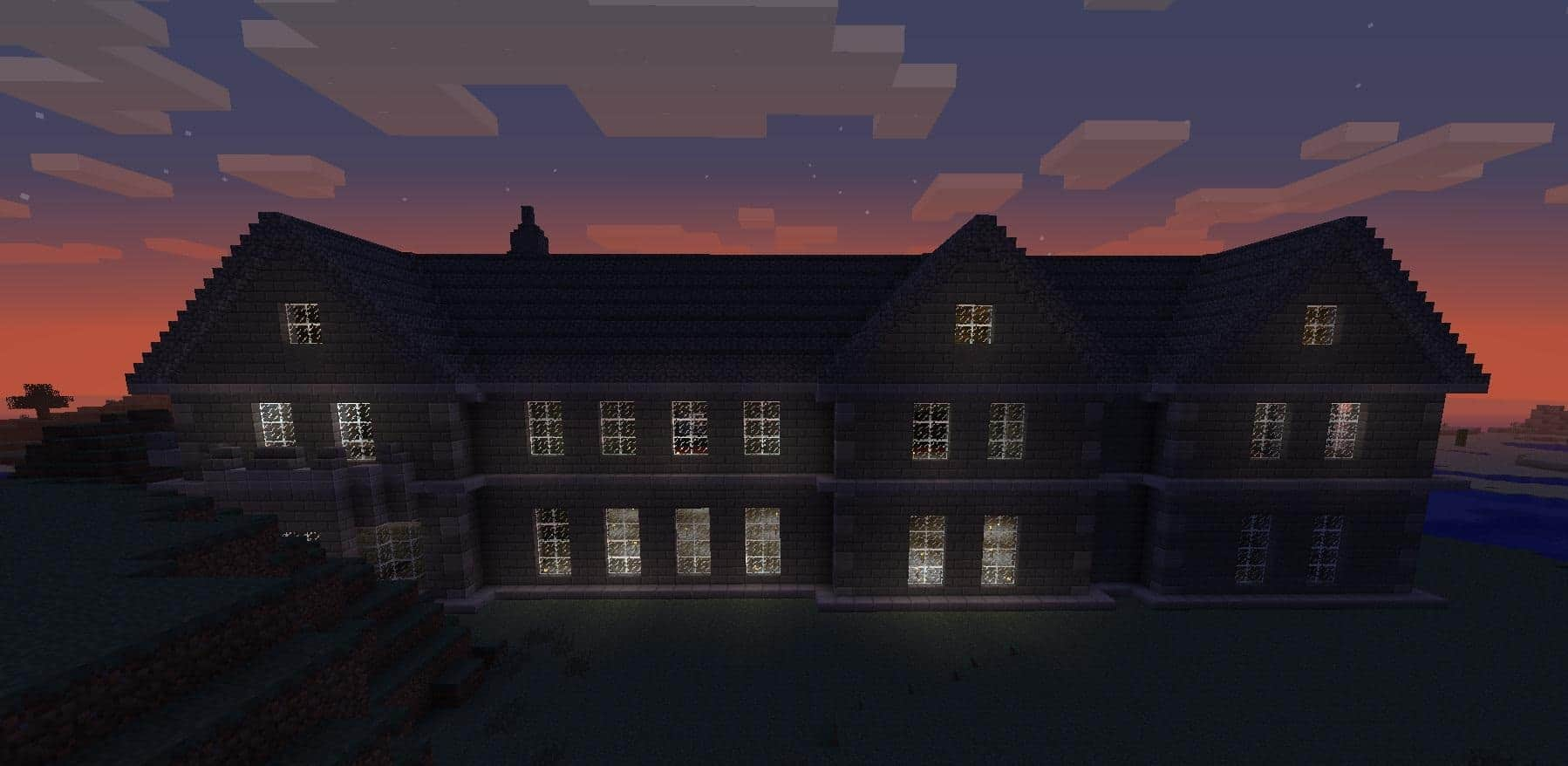 Mount Falcon Manor House Minecraft Building Inc