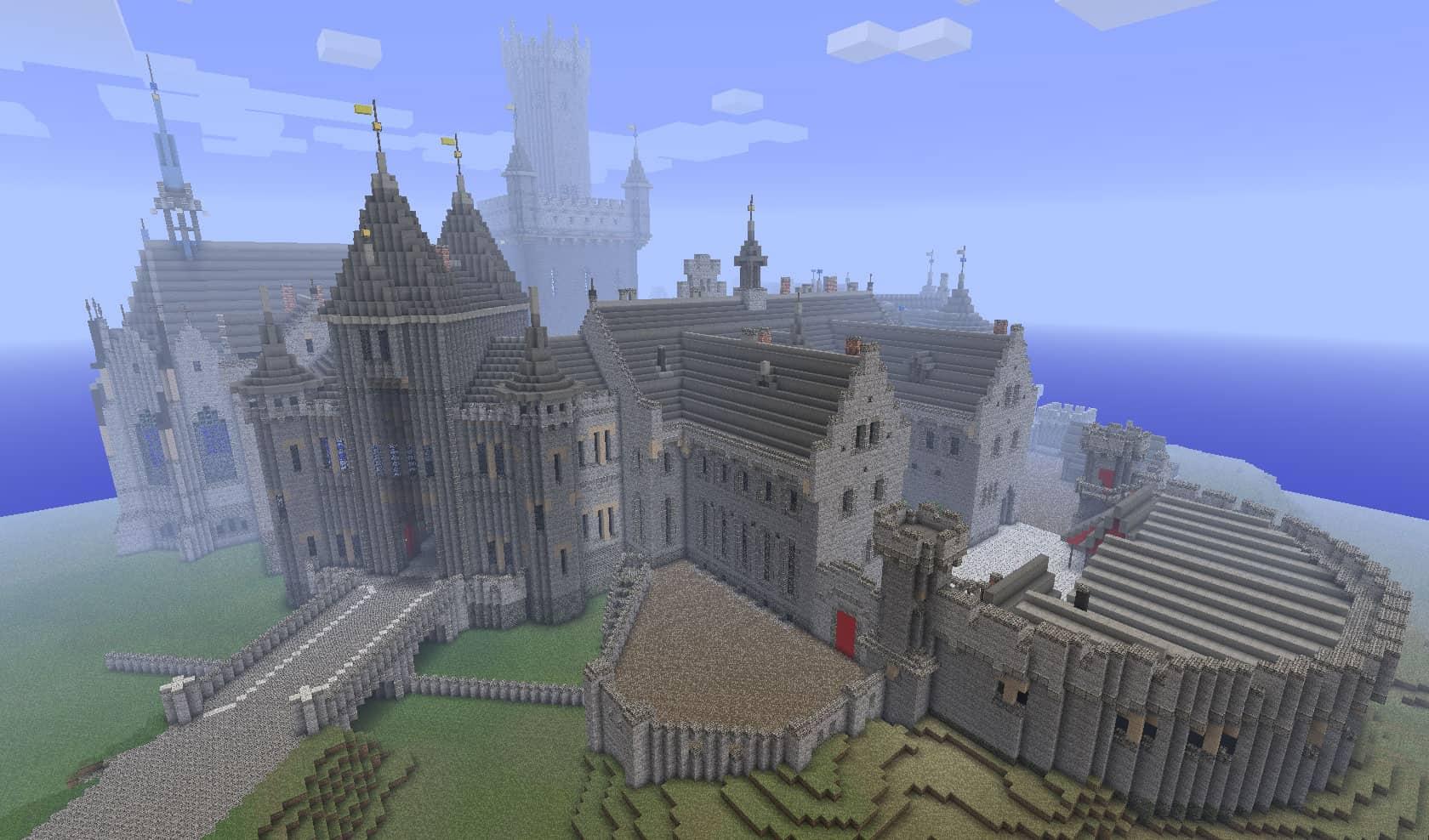 A Kings Castle Minecraft Building Inc