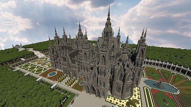 Ecclesia Darii Castle Minecraft Building Inc