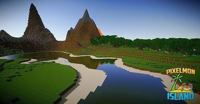 Elite Pixelmon Island Minecraft Building Inc