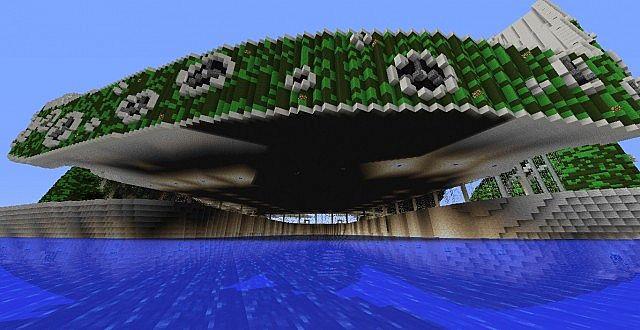 Lilypad City Eco Floating City Minecraft Building Inc