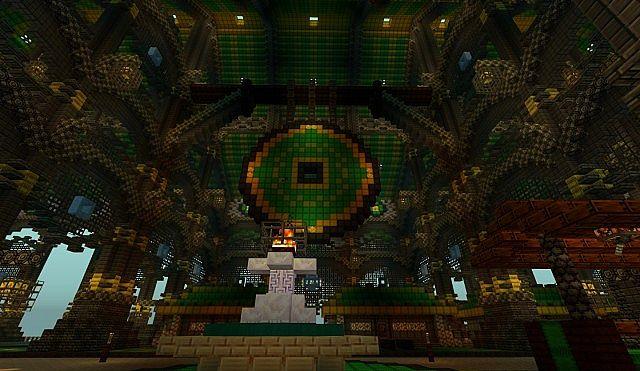 Ba Sing Se Monorail Station Avatar Cartoon Minecraft