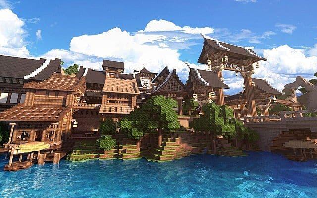 KOR Oriental Of Cantamo Minecraft Building Inc