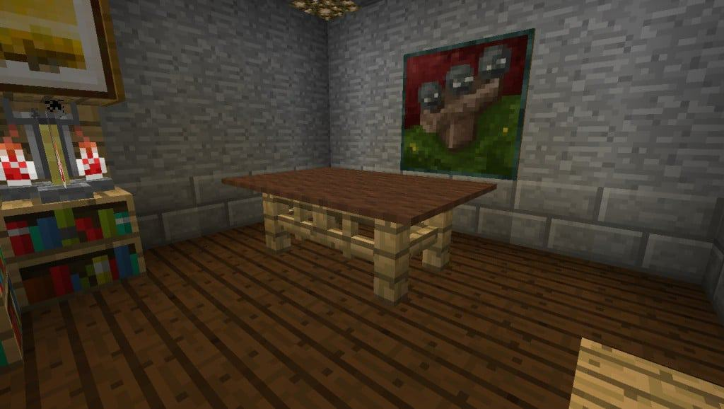 Table Dinning Room Minecraft Building Inc