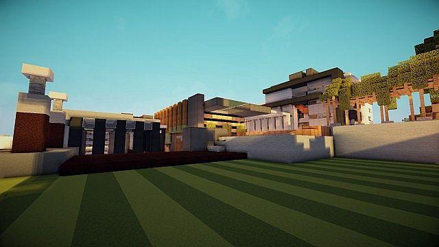 Luxurious Modern House 3 Mansion Minecraft Building Inc