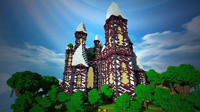 Cliff Mansion Minecraft Building Inc