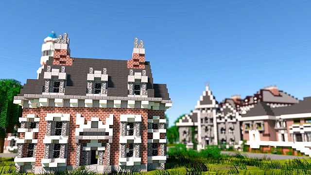 Monster University Frat Houses Minecraft Building Inc