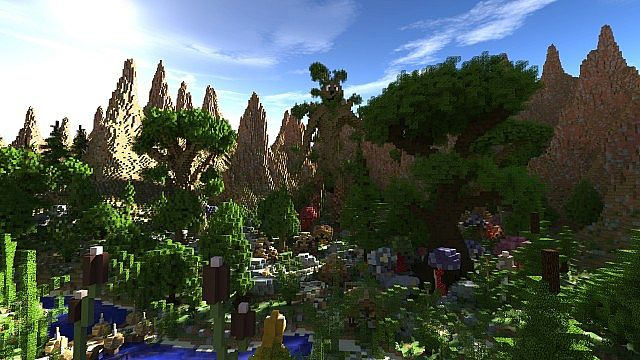 Elessar The Forest Palace Minecraft Building Inc