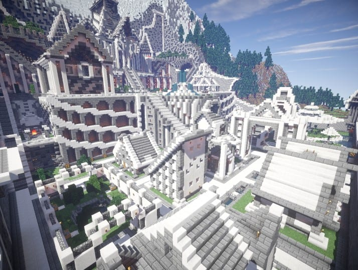 Residence In The Mountains Minecraft Building Inc