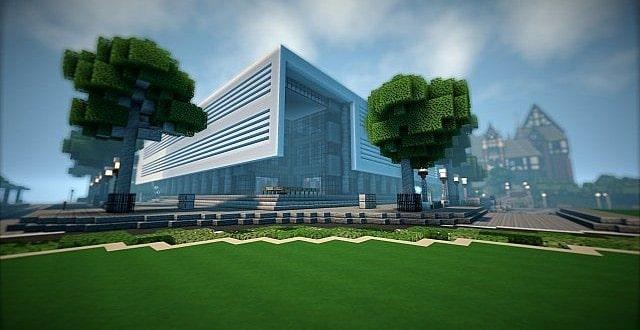T E C P R O Culture Center WoK Minecraft Building Inc