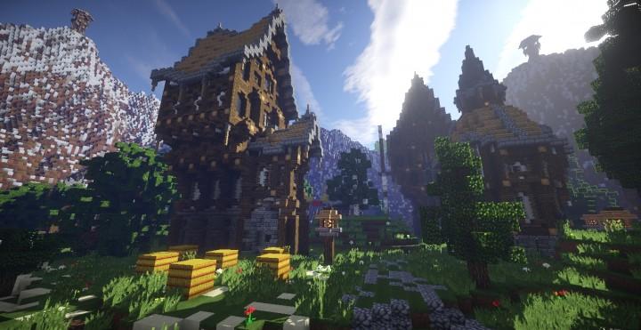 Athens Valley Minecraft Building Inc