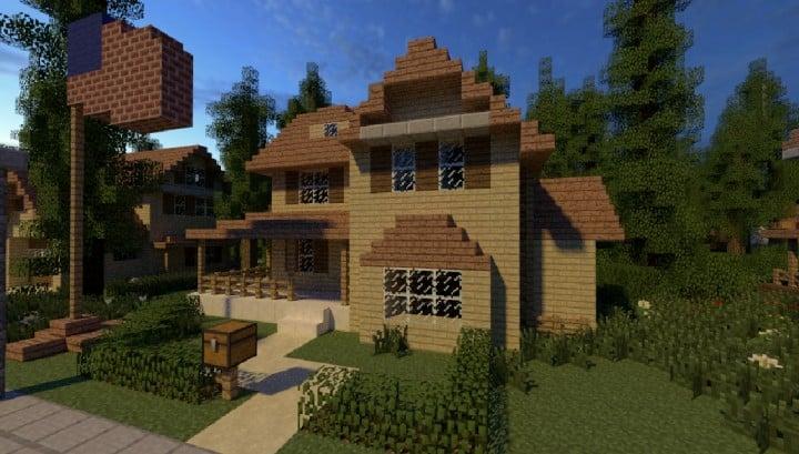 Greenville Idyllic Village Minecraft Building Inc