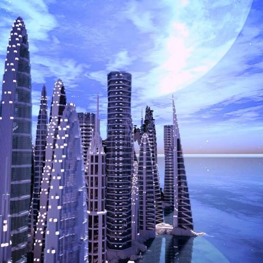 A City By The Water Minecraft Building Inc