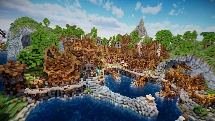 Aranel The Lost Island Minecraft Building Inc