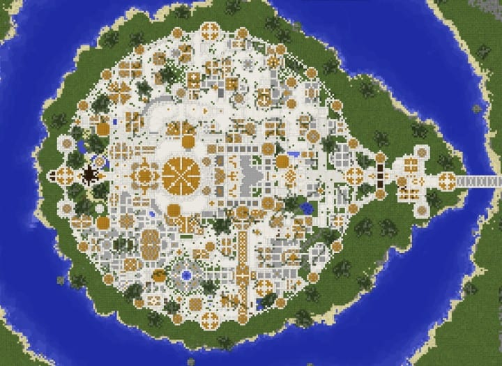 Gondolin Castle Minecraft Building Inc