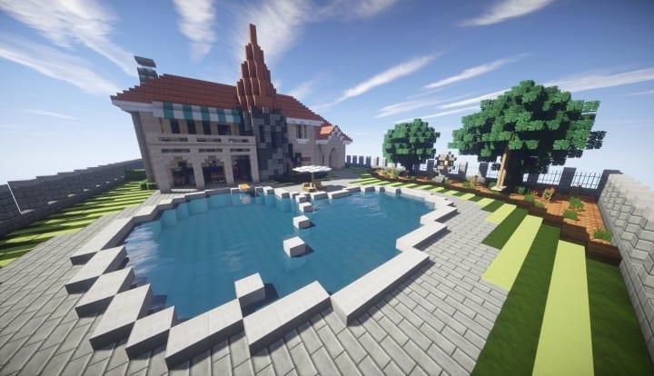 Kanomatas Modern House Minecraft Building Inc