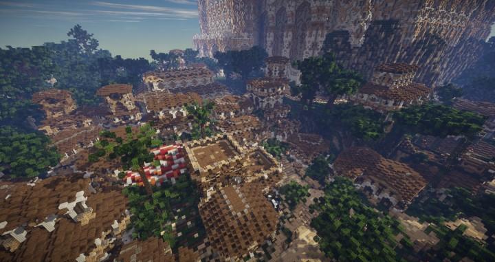 Aarun Oriental Fantasy City Minecraft Building Inc