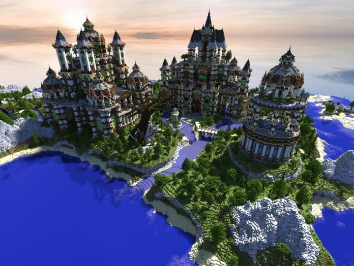 Andor The Two Suns Minecraft Building Inc