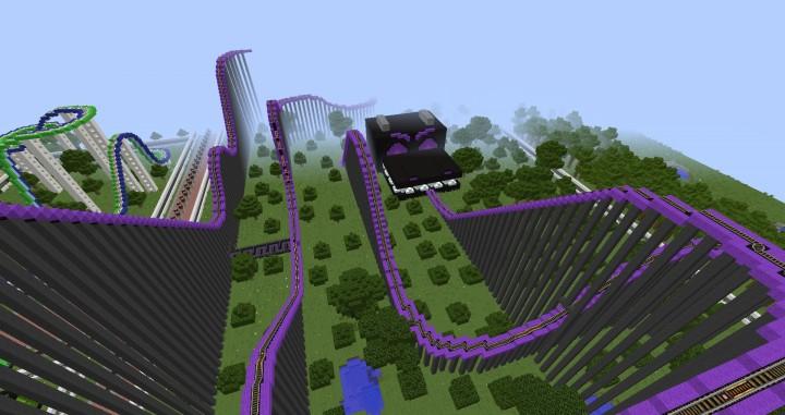 MinePark A Minecraft Theme Park Minecraft Building Inc