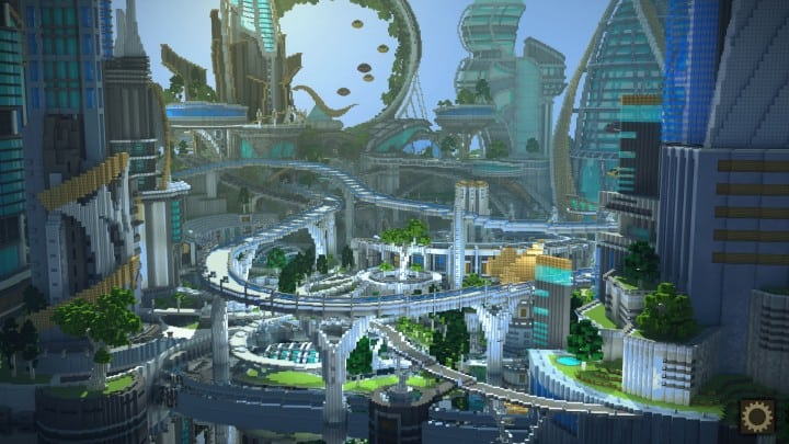 Tomorrowland Minecraft Building Inc