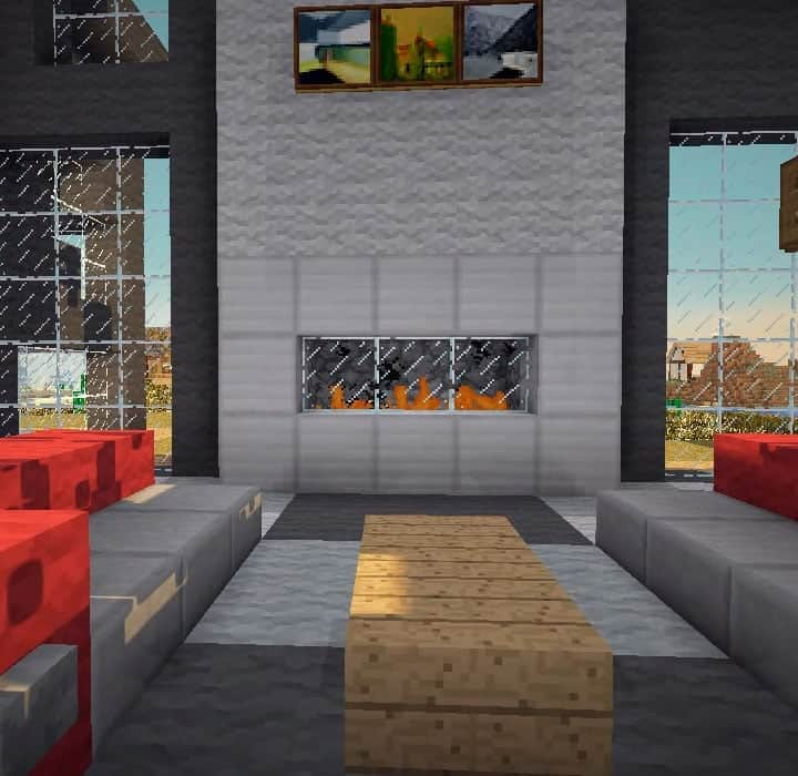 9 Fireplace Ideas - Minecraft Building Inc