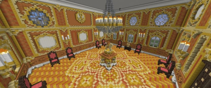 Bernstein Palace Minecraft Building Inc