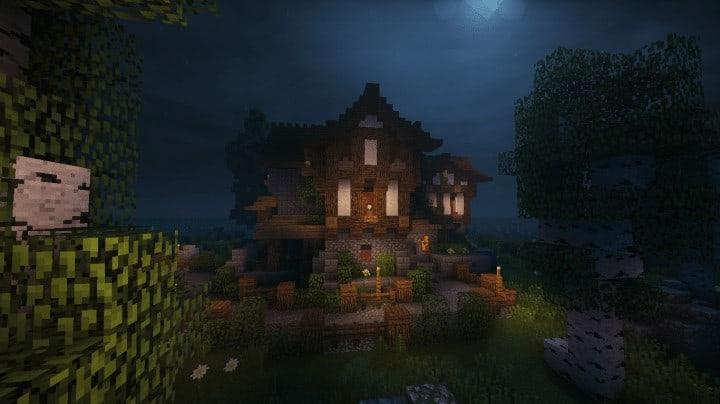 House Interior Night