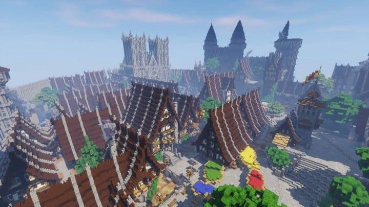 Epic Medieval City Minecraft Building Inc