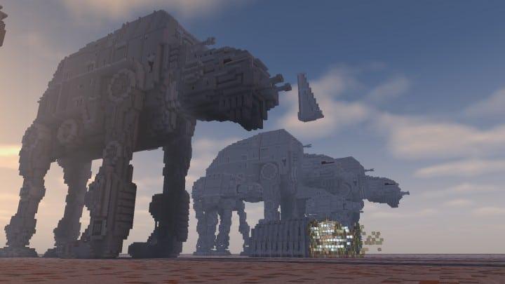 The Last Jedi The Battle Of Crait Minecraft Building Inc