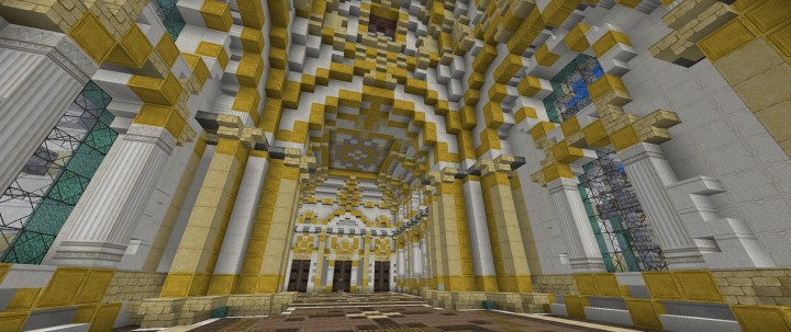 Winter Palace Hermitage Minecraft Building Inc
