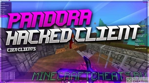 чит Pandora b9 на Майнкрафт 1.8