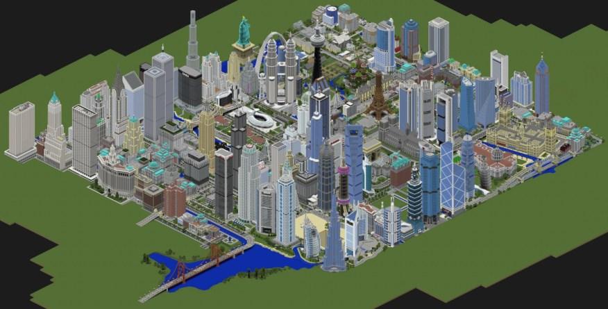 super ciudad minecraft