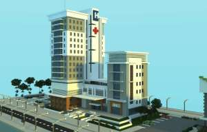 Hospital moderno minecraft